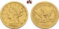 2 1/2 Dollars 1851, Philadelphia. VEREINIGTE STAATEN VON AMERIKA / USA ... 275,00 EUR  zzgl. 5,90 EUR Versand