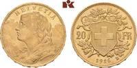 20 Franken 1926 B, Bern. SCHWEIZ  Stempelglanz  445,00 EUR  zzgl. 5,90 EUR Versand