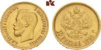 10 Rubel 1899, St. Petersburg. RUSSLAND Nikolaus II., 1894-1917. Vorzüg... 445,00 EUR  zzgl. 5,90 EUR Versand