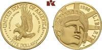 5 Dollars 1986 W, West Point. VEREINIGTE STAATEN VON AMERIKA / USA Föde... 305,00 EUR  zzgl. 5,90 EUR Versand