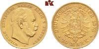 10 Mark 1875 C. Preussen Wilhelm I., 1861-1888. Vorzüglich  245,00 EUR  zzgl. 5,90 EUR Versand