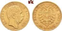 10 Mark 1881. Sachsen Albert, 1873-1902. Fast vorzüglich  /  vorzüglich  525,00 EUR  zzgl. 5,90 EUR Versand