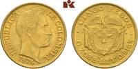 5 Pesos 1924. KOLUMBIEN Republik ab 1886. Fast vorzüglich  325,00 EUR  zzgl. 5,90 EUR Versand