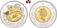 2 Dollars 1999. KANADA Elizabeth II seit 1952. Polierte Platte  275,00 EUR  zzgl. 5,90 EUR Versand