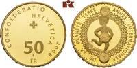 50 Franken 2008 B, Bern. SCHWEIZ  Prachtex...