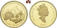 100 Dollars 1999. KANADA Elizabeth II seit 1952. Polierte Platte  345,00 EUR  zzgl. 5,90 EUR Versand