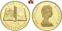 100 Dollars 1982. KANADA Elizabeth II seit 1952. Polierte Platte  625,00 EUR  zzgl. 5,90 EUR Versand