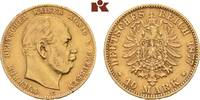 10 Mark 1877 C. Preussen Wilhelm I., 1861-1888. Fast vorzüglich  225,00 EUR  zzgl. 5,90 EUR Versand