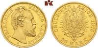 20 Mark 1875. Anhalt Friedrich I., 1871-1904. Vorzüglich-Stempelglanz  6645,00 EUR kostenloser Versand