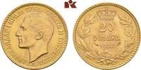 20 Dinara 1925, Belgrad. JUGOSLAWIEN Alexander I., 1921-1934. Fast Stem... 475,00 EUR  zzgl. 5,90 EUR Versand