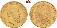 20 Mark 1873. Württemberg Karl, 1864-1891. Vorzüglich  445,00 EUR  zzgl. 5,90 EUR Versand