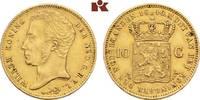 10 Gulden 1840. NIEDERLANDE Wilhelm I., 1813-1840. Fast vorzüglich  645,00 EUR  zzgl. 5,90 EUR Versand