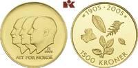 1.500 Kronen 2003, Kongsberg. NORWEGEN Harald V. seit 1991. Polierte Pl... 745,00 EUR  zzgl. 5,90 EUR Versand