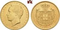 10.000 Reis 1884, Lissabon. PORTUGAL Ludwig I., 1861-1889. Fast vorzügl... 945,00 EUR  zzgl. 5,90 EUR Versand