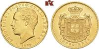 10.000 Reis 1879, Lissabon. PORTUGAL Ludwig I., 1861-1889. Fast vorzügl... 945,00 EUR  zzgl. 5,90 EUR Versand