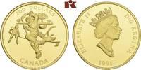 200 Dollars 1991. KANADA Elizabeth II seit 1952. Prachtexemplar von pol... 675,00 EUR  zzgl. 5,90 EUR Versand