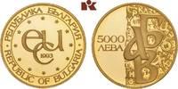 5.000 Lewa 1993. BULGARIEN  Prachtexemplar von polierten Stempeln, fast... 345,00 EUR  zzgl. 5,90 EUR Versand