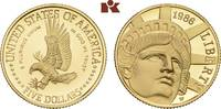 5 Dollars 1986 W, West Point. VEREINIGTE STAATEN VON AMERIKA / USA Föde... 315,00 EUR  zzgl. 5,90 EUR Versand