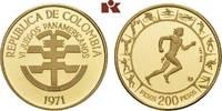 200 Pesos 1971. KOLUMBIEN Republik ab 1886. Prachtexemplar von polierte... 355,00 EUR  zzgl. 5,90 EUR Versand