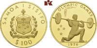 100 Tala 1976. WEST-SAMOA  Prachtexemplar von polierten Stempeln, fast ... 645,00 EUR  zzgl. 5,90 EUR Versand