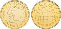 20 Euro 2005. FINNLAND 2. Republik seit 1917. Polierte Platte  85,00 EUR  zzgl. 5,90 EUR Versand