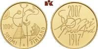 100 Euro 2007. FINNLAND 2. Republik seit 1917. Polierte Platte  375,00 EUR  zzgl. 5,90 EUR Versand