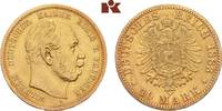 10 Mark 1883 A. Preussen Wilhelm I., 1861-1888. Fast sehr schön  /  vor... 2475,00 EUR kostenloser Versand