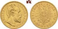 20 Mark 1875. Anhalt Friedrich I., 1871-1904. Fast vorzüglich  3695,00 EUR kostenloser Versand