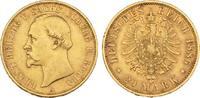 20 Mark 1886. Sachsen-Coburg-Gotha Ernst II., 1844-1893. Sehr schön +  3675,00 EUR kostenloser Versand