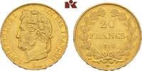 20 Francs 1846 A, Paris. FRANKREICH Louis Philippe, 1830-1848. Fast vor... 475,00 EUR  zzgl. 5,90 EUR Versand