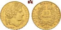 20 Francs 1851, A, Paris. FRANKREICH 2. Republik, 1848-1852. Vorzüglich... 345,00 EUR  zzgl. 5,90 EUR Versand