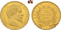 20 Francs 1857 A, Paris. FRANKREICH Napoléon III, 1852-1870. Vorzüglich... 345,00 EUR  zzgl. 5,90 EUR Versand