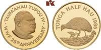 1/2 Hau 1986. TONGA Tupou IV, 1965-2006. Polierte Platte  425,00 EUR  zzgl. 5,90 EUR Versand