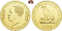1.500 Shilingi 1974. TANSANIA Republik. Stempelglanz  1425,00 EUR kostenloser Versand