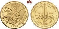 5 Dollars 1987 W, West Point. VEREINIGTE STAATEN VON AMERIKA / USA Föde... 345,00 EUR  zzgl. 5,90 EUR Versand
