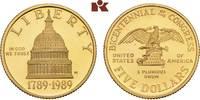 5 Dollars 1989 W, West Point. VEREINIGTE STAATEN VON AMERIKA / USA Föde... 345,00 EUR  zzgl. 5,90 EUR Versand