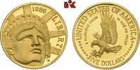 5 Dollars 1986 W, West Point. VEREINIGTE STAATEN VON AMERIKA / USA Föde... 325,00 EUR  zzgl. 5,90 EUR Versand