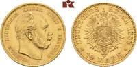 10 Mark 1888 A. Preussen Wilhelm I., 1861-1888. Vorzüglich-Stempelglanz  385,00 EUR  zzgl. 5,90 EUR Versand