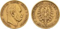 10 Mark 1874 C. Preussen Wilhelm I., 1861-1888. Sehr schön  225,00 EUR  zzgl. 5,90 EUR Versand
