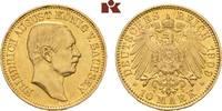 10 Mark 1909. Sachsen Friedrich August III., 1904-1918. Vorzüglich  595,00 EUR  zzgl. 5,90 EUR Versand