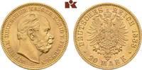 20 Mark 1888. Preussen Wilhelm I., 1861-1888. Fast Stempelglanz  895,00 EUR  zzgl. 5,90 EUR Versand