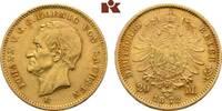 20 Mark 1872. Sachsen Johann, 1854-1873. Fast vorzüglich  445,00 EUR  zzgl. 5,90 EUR Versand