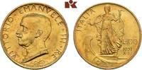 100 Lire 1931/X R, Rom. ITALIEN Victor Emanuel III., 1900-1946. Vorzügl... 775,00 EUR  zzgl. 5,90 EUR Versand