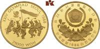 25.000 Won 1986. KOREA Republik. Polierte Platte  675,00 EUR  zzgl. 5,90 EUR Versand