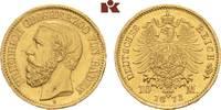 10 Mark 1873. Baden Friedrich I., 1852-1907. Prägebedingte Randunebenhe... 575,00 EUR  zzgl. 5,90 EUR Versand