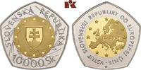 10.000 Slowakische Kronen 2004. SLOWAKEI Republik. Polierte Platte  795,00 EUR  zzgl. 5,90 EUR Versand
