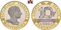 10 Francs 1989. FRANKREICH 5. Republik seit 1958. Prachtexemplar von po... 445,00 EUR  zzgl. 5,90 EUR Versand