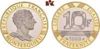 10 Francs 1989. FRANKREICH 5. Republik seit 1958. Polierte Platte  465,00 EUR  zzgl. 5,90 EUR Versand