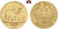 15 Rupien 1916 T, Tabora. Deutsch-Ostafrika  Sehr schön-vorzüglich  4195,00 EUR kostenloser Versand