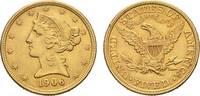 5 Dollars 1906, Philadelphia. VEREINIGTE STAATEN VON AMERIKA / USA Föde... 395,00 EUR  zzgl. 5,90 EUR Versand